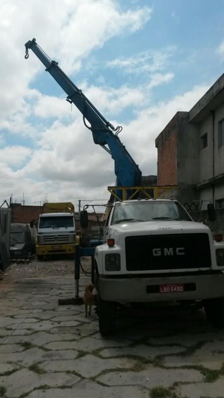 Aluguel de Munck 1 Tonelada Preço Jaguaré - Caminhão Munck para Alugar