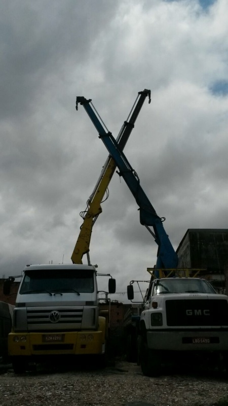 Carregamento de Container com Caminhão Munck Preço Parque do Carmo - Remoção de Container com Caminhão Munck