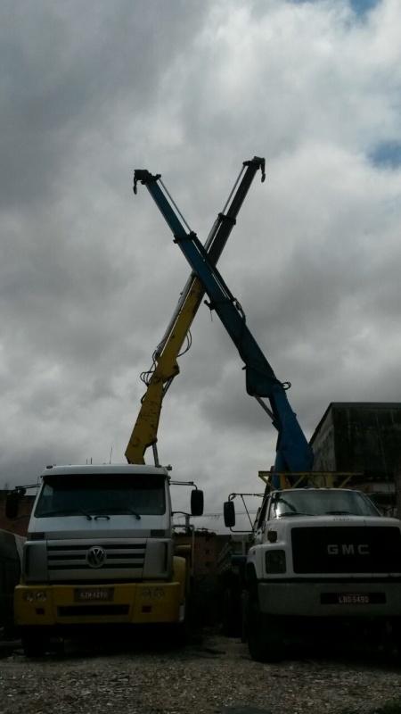 Empresa de Aluguel de Munck para Transporte de Cargas Jaraguá - Caminhão Munck para Alugar