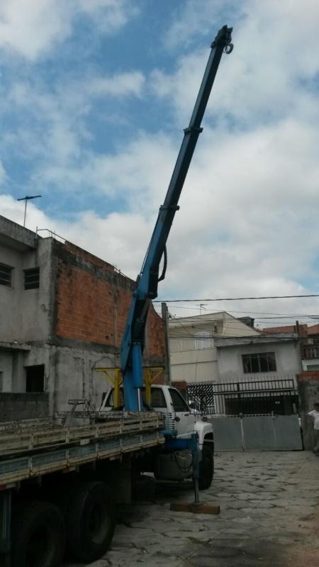 Empresas de Transporte de Containers Jardim Santo Antônio de Pádua - Remoção de Container com Munck