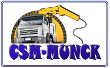 aluguel de munck para transporte de cargas - CSM LOCAÇÃO