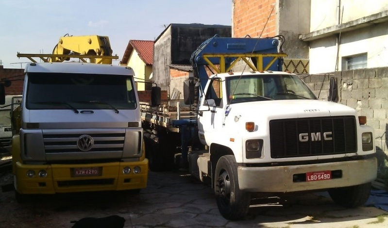 Quanto Custa Transporte de Máquinas com Caminhão Munck Jardim Guarapiranga - Transporte de Máquinas com Guindalto