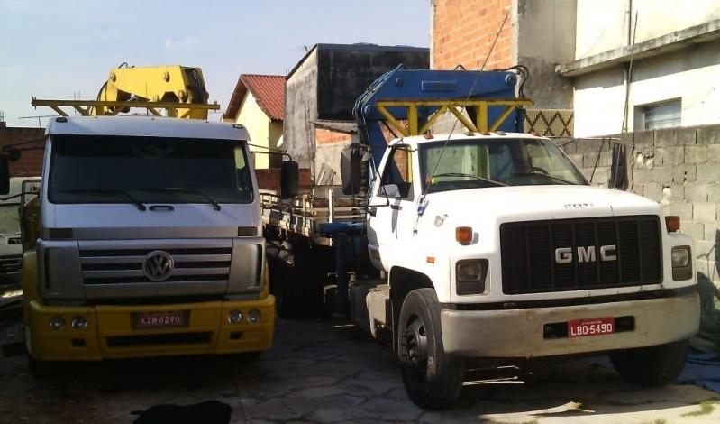 Serviço de Caminhões de Transporte de Containers Guarulhos - Remoção de Container com Munck