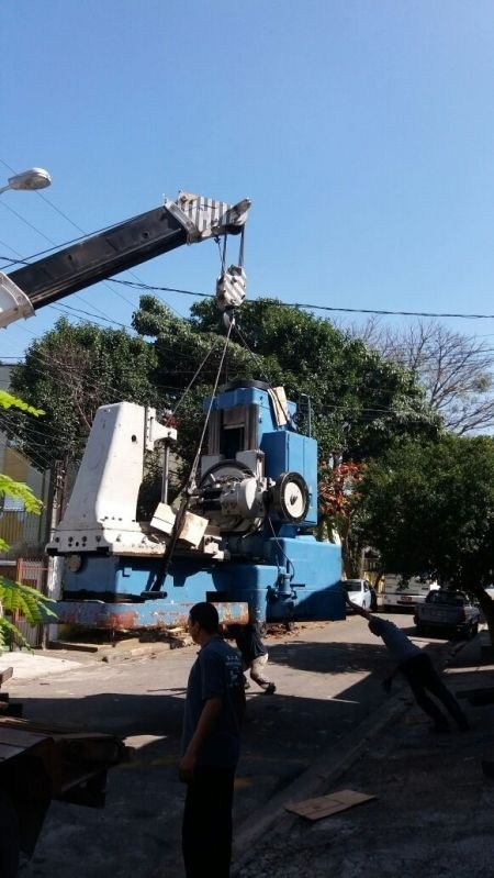 Serviço de Locação de Guindastes Vila Cecília Maria - Locação de Guindaste para Içamento