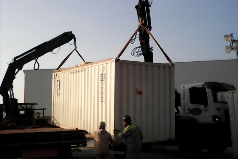 Serviço de Transporte de Containers Vazios Parada Inglesa - Transporte de Containers com Munck