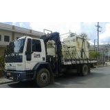 caminhão munck para locação na Bairro Jardim