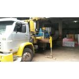 empresa de içamento com caminhão munck Parque Peruche