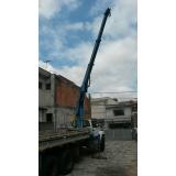 locação de caminhão munck para indústria Lapa