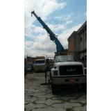 locação de caminhão munck para transportadora preço Vila Guaraciaba