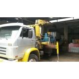 locação de caminhão munck para transportadora Água Branca