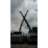 locação de caminhão munck para transporte de vigas preço José Bonifácio