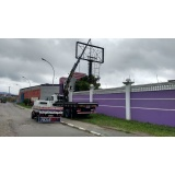 locação de caminhão munck para transportes de vigas Bairro Campestre