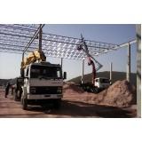 locação de munck para transporte de poste preço Jaraguá