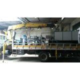 caminhão munck para locação e transporte