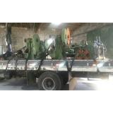 orçamento de transporte de equipamentos pesados Parque Peruche