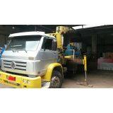 quanto custa locação de caminhão munck em sp em Utinga