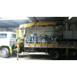 quanto custa locação de caminhão munck para transporte Santo Antônio