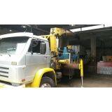 quanto custa locação e transporte de caminhão munck em Santo Antônio
