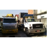 quanto custa transporte de máquinas com caminhão munck Santo André