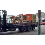 remoção de container com caminhão munck Vila São Pedro