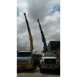 serviço de caminhão para transporte de containers José Bonifácio