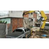 serviço de içamento de carga em construção Brás