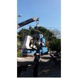 serviços de caminhão munck preço no Bangú
