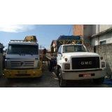 transportadora com munck preço em Serraria