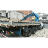 transporte de containers com caminhão munck Limão