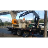 transporte de equipamento pesado Vila América