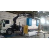 transporte de equipamentos pesados preço Vila Sá