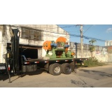 transporte de máquina industrial Santa Paula