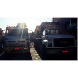 transporte de máquina pesada Vila Floresta