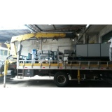 transporte de máquinas industriais Jardim Santo Antônio