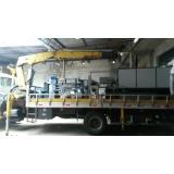 transporte de máquinas industriais ABCD
