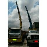 transportes com caminhão munck em Serraria