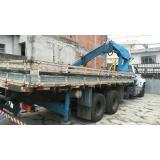 remoção de container com munck