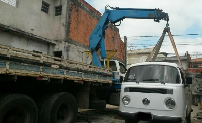 Transporte de Container com Caminhão Munck Preço Vila Dora - Caminhões de Transporte de Containers