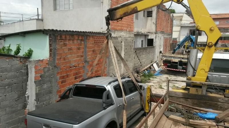 Transporte de Containers Vazios São Bernardo do Campo - Remoção de Container com Caminhão Munck
