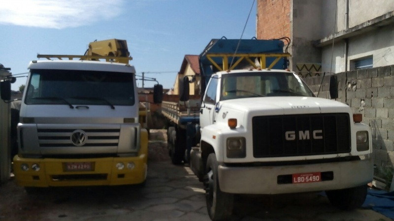 Transporte de Equipamento e Máquina Vila Ré - Transporte de Máquinas de Munck