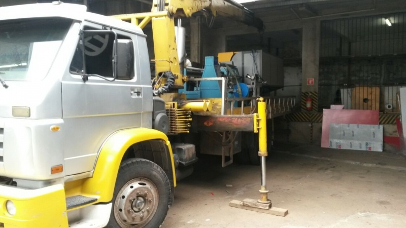 Transporte de Máquina de Munck Vila Progresso - Transporte de Equipamentos Industriais