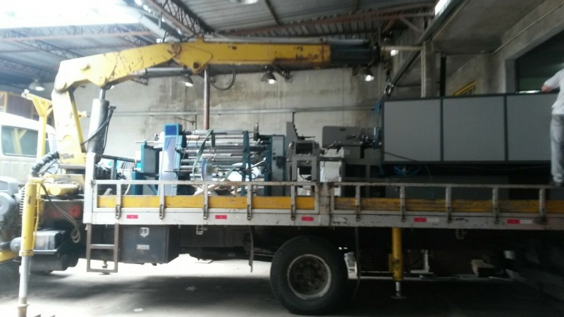 Transporte de Máquinas Industriais Jardim Santo Antônio - Transporte de Máquinas com Caminhão Munck
